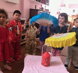 chinese New Year and costume Dance 2020