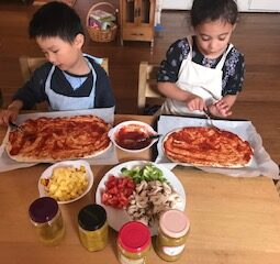 Pizza Making 2020 Dec Louis