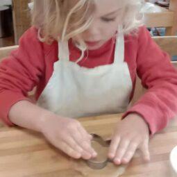 Beau cutting a biscuits 21